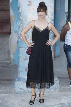 Caroline de Maigret - Chanel Cruise a Cuba: il parterre della sfilata - May 3, 2016 - Vogue.it