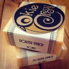 Okie Crowe Porter Peach Soap #handmade #madeinoklahoma #oklahoma