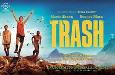 'Trash' (2014) - Wagner Moura, Martin Sheen, Selton Mello, Rooney Mara, Rickson Teves & Stepan Nercessian.