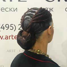 Ballroom hairstyle Darya Stolbova имидж-студия @artecreo #ballroom #ballroommakeup #ballroomhairstyle
