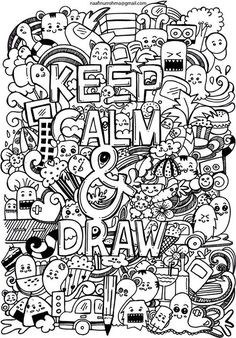 Keep  Calm and draw by Naphiy.deviantart.com on @DeviantArt
