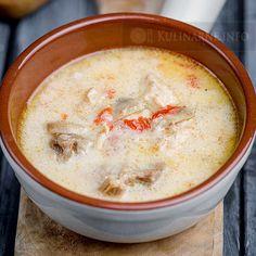 Zimowa zupa na bazie serka mascarpone