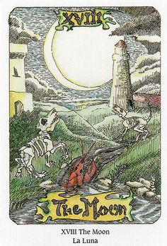 Tarot of the Dead- The Moon    https://www.facebook.com/78Whispers