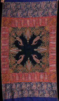 Antique jamawar shawl!