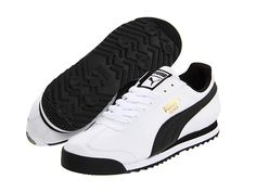 PUMA Roma Basic White/Black - Zappos.com Free Shipping BOTH Ways