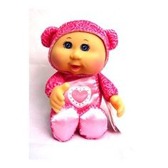 Cabbage Patch Kids Cuties: Pink Valentines Day Doll: Cabbage Patch Cuties are the perfect gift for Valentines Day! These Cuties feature soft bodies and can really suck their thumb! So cute, cuddly and lovable. Newborn Baby Dolls, Baby Girl Dolls, Interactive Baby Dolls, Valentines Day Bears, Cabbage Patch Babies, Ty Toys, Thing 1, Asian Doll, Doll Accessories