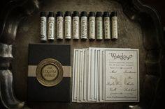 Deluxe Perfume Oil Sampler  mini variety set of by ForStrangeWomen