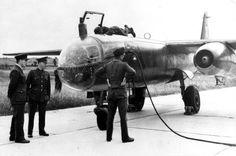 Die Erprobung der Arado Ar 234 verlangte eine Menge Treibstoff, die nicht einmal der gesamten Industrie im Monat zur Verfügung stand.