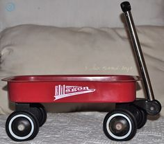 my sister pulled me around in this Childhood Toys, Childhood Memories, Red Crocs, Toy Wagon, Kickin It Old School, Red Stuff, My Favorite Color, My Favorite Things, Wagon Wheels