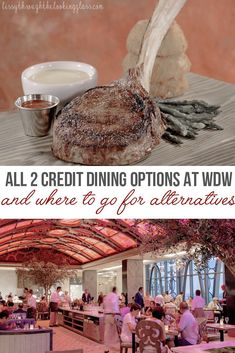 The Disney Dining plan is an excellent option for families looking to simplify their dining plans at WDW. Did you know some restaurants cost 2 dining credits to dine? These fine, signature dining options are great - but what are some cheaper alternatives? Let's break it all down! #disney #disneydiningplan #disneyvacation | disney tips | disney secrets