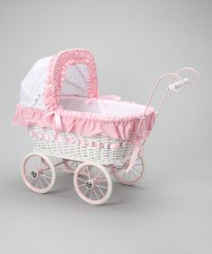 $69.99Take a look at this Alexandra Doll Play Pram Set by Regal Doll Carriages on #zulily today!