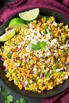 Mexican Street Corn Salad with Avocado | Cooking Classy