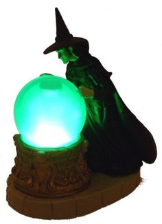 Lot of 2 Wizard Of Oz Wicked Witch West Light Up Crystal Ball Stocking Stuffer