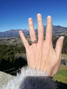 My beautiful engagment ring 😍😍