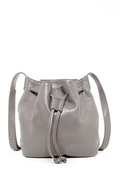 Lilac Leather Crossbody Bucket Bag By Onna Ehrlich On Nordstrom Rack