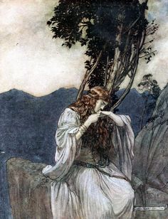 Siegfried & The twilight of the gods' by Richard Wagner; with illustrations by Arthur Rackham ; translated by Margaret Armour. Published 1911 by William Heinemann