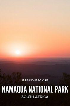 12 reasons to visit #Namaqua National Park #SouthAfrica #travel #nationalparks
