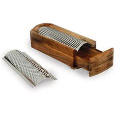 <li>Gorgeous cheese grater is based on a decades-old design </li><li>Grater is sure to become a mainstay in your kitchen arsenal</li><li>Cheese shredder comes with two stainless steel blades suitable for soft or hard cheeses</li>