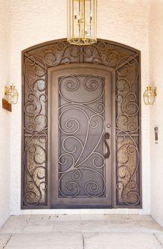 Barcelona Iron Entry Doors #Firstimpression