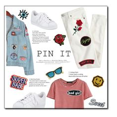 """""""Pintastic patches"""" by briesepb ❤ liked on Polyvore featuring Chicnova Fashion, J.Crew, Marc Jacobs, WithChic, C&D Visionary, adidas, H&M, Anya Hindmarch, maurices and Orelia"""