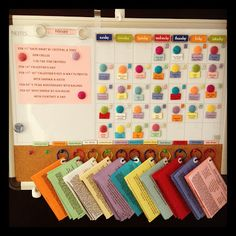 Magnetic Dinner Menu Board...With over 150 recipes!!
