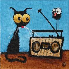 Me and my radio...