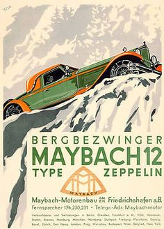 Maybach 12 Type Zeppelin - artwork