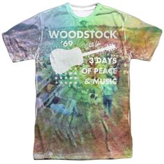WOODSTOCK/ON THE HILL-S/S ADULT POLY CREW-WHITE-XL