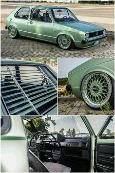 Awesome Volkswagen Volkswagen Golf GTi on BBS. Scirocco Volkswagen, Volkswagen Golf Mk1, Passat B4, Jetta Mk1, Vw Gol, Vw Classic, Vw Cars, Volvo, Golf 1