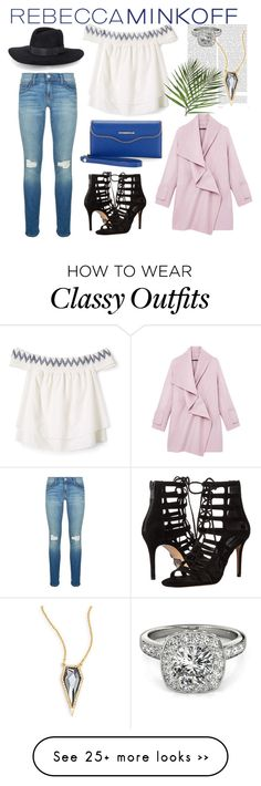 """""""Chic and Classy Streetstyle"""" by kaymu-albania on Polyvore featuring Rebecca Minkoff, Vince, Oris, Michael Kors, Allurez, rebeccaminkoff and contestentry"""