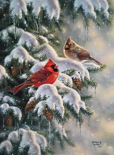 Ashley's Art Gallery - Holiday Greetings by Abraham Hunter