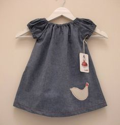 BIRDIE DRESS gorgeous little ' have to have' sz1 - by Frankys on madeit