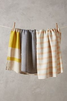 linen dishtowels