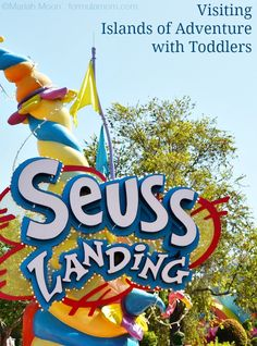 Visiting Islands of Adventure with Toddlers at Universal Studios Orlando can be a great family travel option!