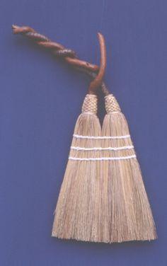 Double Bittersweet. Handmade. Friendswood Brooms.