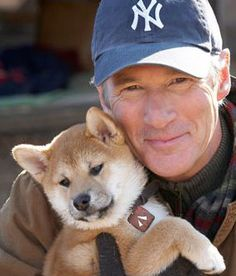 Hachi was an Akita Inu, but in the movie Hachiko, the puppy is at the start a Shiba Inu.