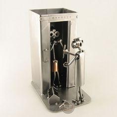 Aufzugsmonteur Schraubenmännchen