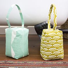 Doorstop <br>by Michelle Engel Bencsko Quilter's Cotton from Make It Sew Projects for Cloud9 Fabrics