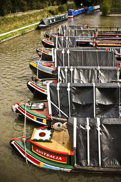 Working Boats at Alvecote