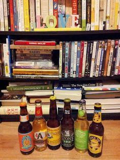 My little #library. I need more space for all my books and movies and for my #beer of course. lol