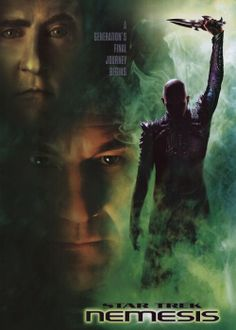 Keith and I watched Star Trek : Nemesis!