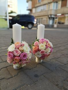 Pillar Candles, Bloom, Table Decorations, Sweet, Home Decor, Homemade Home Decor, Decoration Home, Taper Candles, Candles