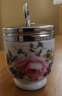 Royal Worcester Egg Coddler - Another Bournemouth - Small Size - Single Egg