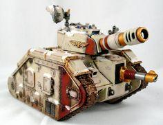 Leman Russ, Snow, Tank, Warhammer 40,000 - Vostroyan Leman Russ Right - Gallery - DakkaDakka | No assembly required.