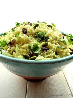 Riz à l'indienne   Blog de cuisine bio : Le cri de la courgette...