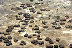 Images from Early Africa. African village: after the Bantu migrations, villages became the traditional method of settled life south of the Sahara