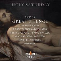 Holy Saturday #EasterVigil