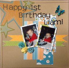 Happy+1st+Birthday - Scrapbook.com