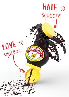 Marmite concept packaging by Andrew Mitchell Marmite, Brand Packaging, Hate, Branding, Concept, Recipes, Design, Brand Management