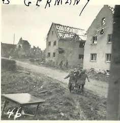 """Picture by Willem Doms """"December 1944 Footsteps of the 330th. Infantry 83. US-Infantry Division. Grosshau"""""""